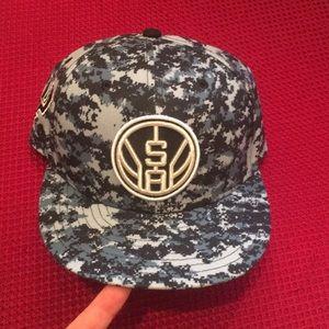 San Antonio Spurs New Era Digital Camo Hat Black
